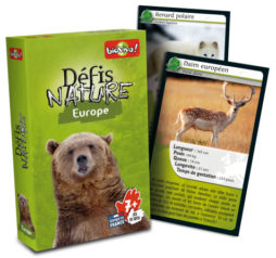 Jeu de cartes Défis nature Europe