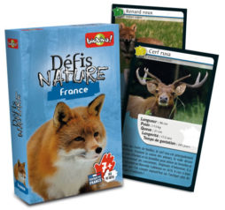 Jeu de cartes défis nature France