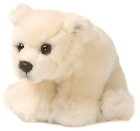Peluche d'ours polaire WWF